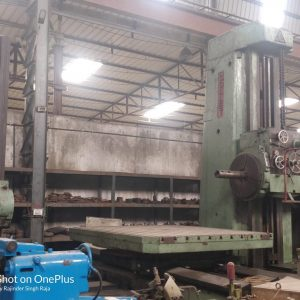 HORIZONTAL BORING MACHINE – COLLET 160 MM