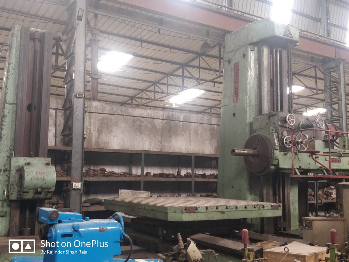 HORIZONTAL BORING MACHINE – COLLET 160 MM