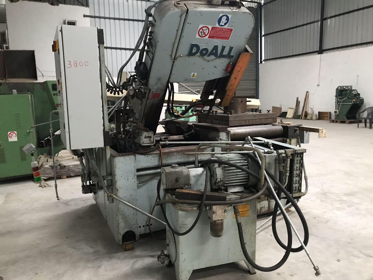 VERTICAL BAND SAW MACHINE,  Make : DOALL Model : TF 24 SA.